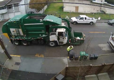 Wenn dem Müllmann die Mülltonne zu schwer wird