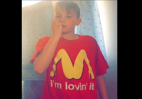 Er mag McDonalds