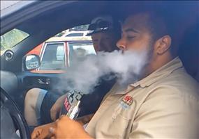 Wenn der Bass den Rauch zum zittern bringt