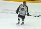 Tolles Tor beim Eishockey