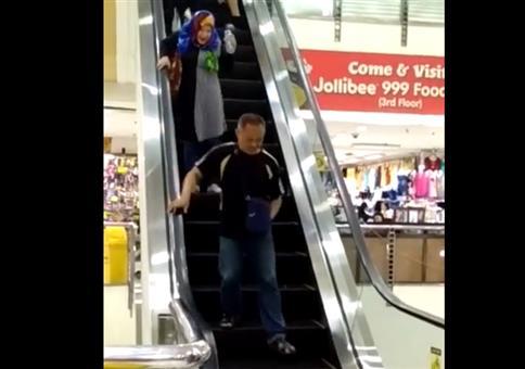 Die Ratte auf der Rolltreppe