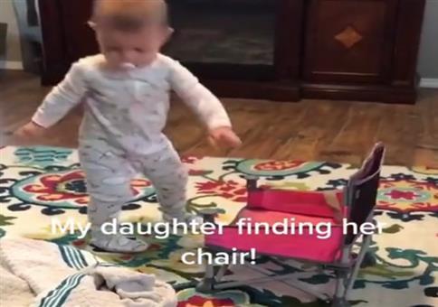 Wenn das Kind vergessen hat, wie man sich hinsetzt