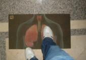 Anti Raucher Fußmatte