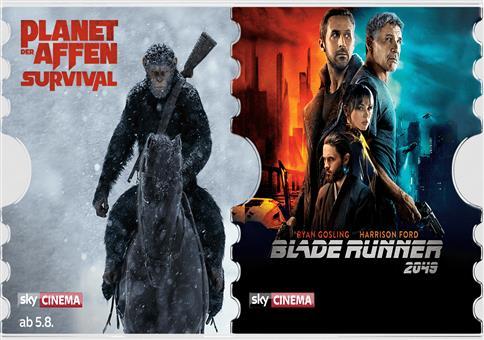 Sky Cinema Ticket bis Ende Oktober nur 7,99€ (statt 30€)