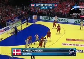 Handball: Ball ins Tor drehen