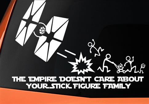 The Empire Doesnt Care About Your Stick Figure Family