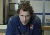 Jens Lehmann beim Training