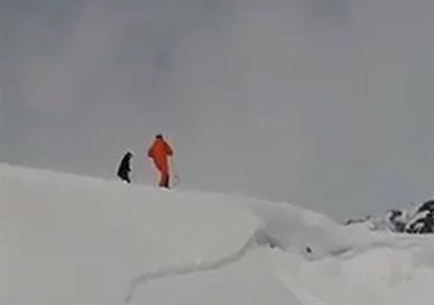 Nachahmer beim Ski-Fail