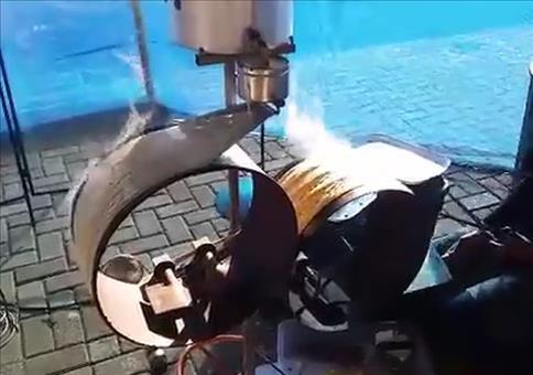 Die Pfannkuchen Maschine