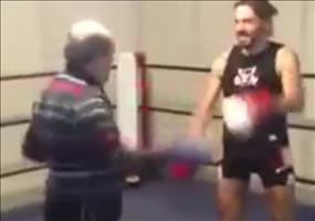 Alt vs Jung beim Boxen