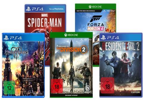 5 Spiele für 3: 3 Spiele kaufen + weitere 2 Spiele gratis