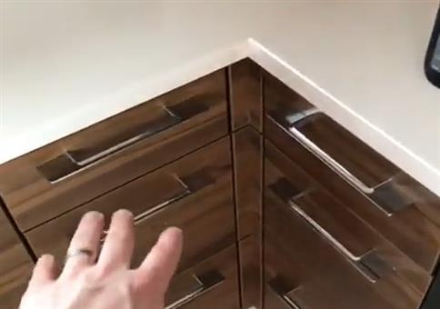 Clevere Eckschubladen in der Küche