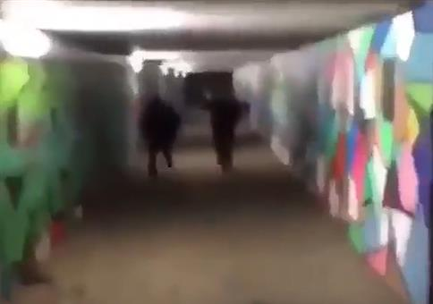 Heftiger Böller im Tunnel