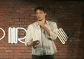 Schlagfertiger Comedian