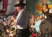Trommler auf dem Oktoberfest