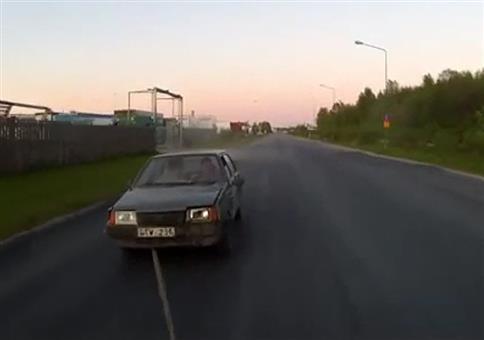 Russischer Abschleppdienst