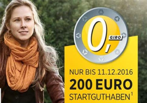 KRACHER: 200€ Startguthaben für kostenloses Girokonto