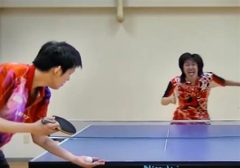 Amazing Ping Pong Trick Shots 2016