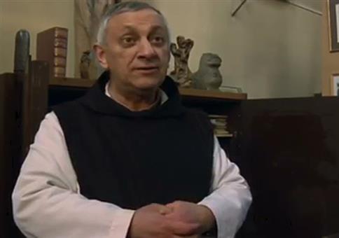 Auch Mönche machen gerne mal einen Witz