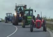 Traktor gibt Gas