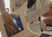 Touchpad Gitarre