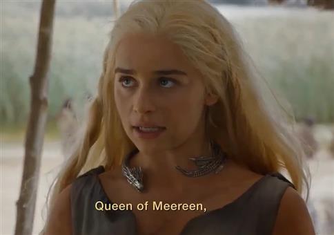 Game of Thrones - Daenerys Targaryen stellt sich vor