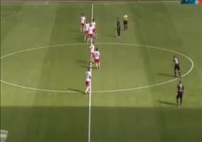 Verdammt schnelles Tor beim Fußball