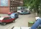 Strassenbahn-Crash
