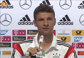 Schlagfertiger Thomas Müller auf WM Pressekonferenz