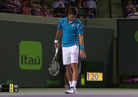 Neulich beim Tennis: Ab in meine Tasche mit dir