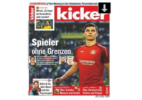 Gratis: 13 Ausgaben vom Kicker