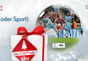 Sky Welt + BUNDESLIGA für 16,90€ + 50€ Amazon Gutschein