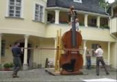 Sehr große Geige
