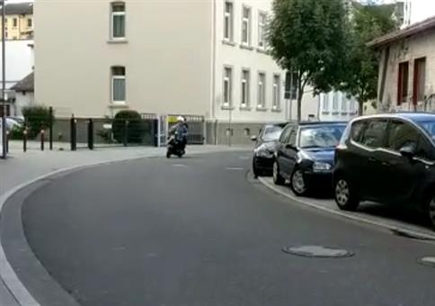 Motorroller mit erstklassigem Sound