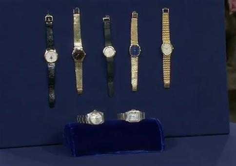 Eine kleine Sammlung schweizer Uhren