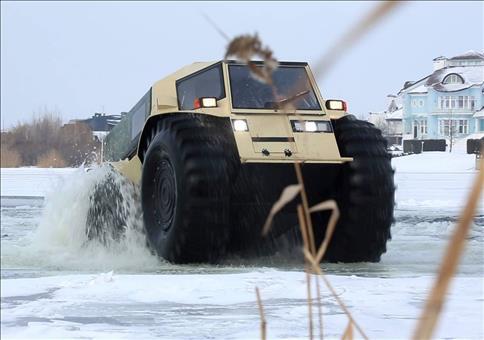 Sherp ATV - Russischer Extrem-Offroader