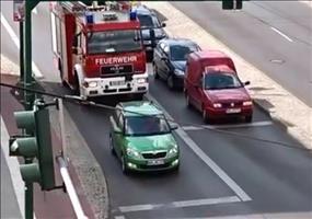 Feuerwehreinsatz und dann das... Was für ein ARSCHLOCH!