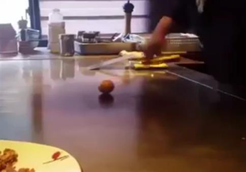 Chinese Chef Egg Trick