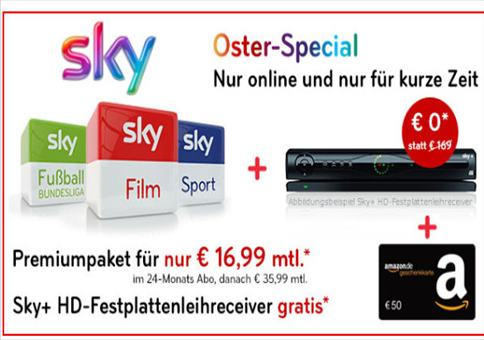 Sky zum Hammer-Preis!