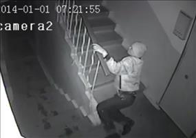 Endboss Treppe - Besoffener Russe auf dem Weg nach Hause