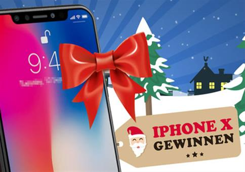iPhone X im Wert von 1.149€ gewinnen!