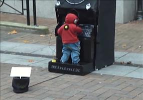 DJ Minimix Street Perfomance