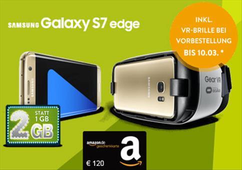 Nur noch heute: Galaxy S7 Allnet-Kracher!