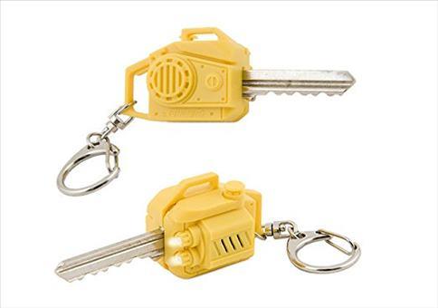 Dein Haustürschlüssel als Motorsäge
