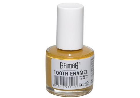 Endlich gelbe Zähne!