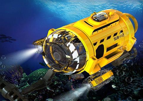 Ferngesteuertes Mini-U-Boot zum Schnäppchenpreis!