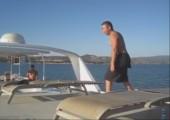 Vom Boot springen Fail