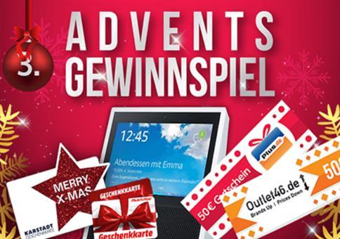 Mein-Deal.com Gewinnspiel zum 3. Advent mit tollen Preisen
