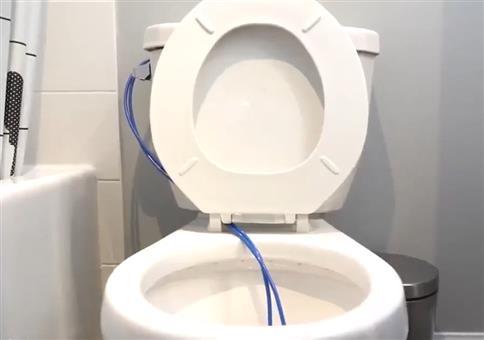 Mit dieser Erfindung benötigt ihr nie wieder Klopapier!