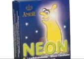 Leuchtende Kondome